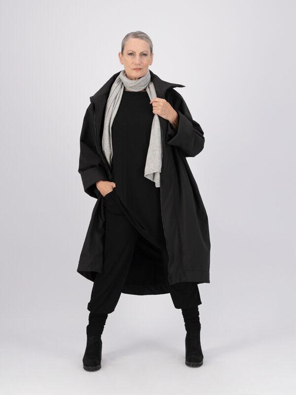 maxi coat soft shell