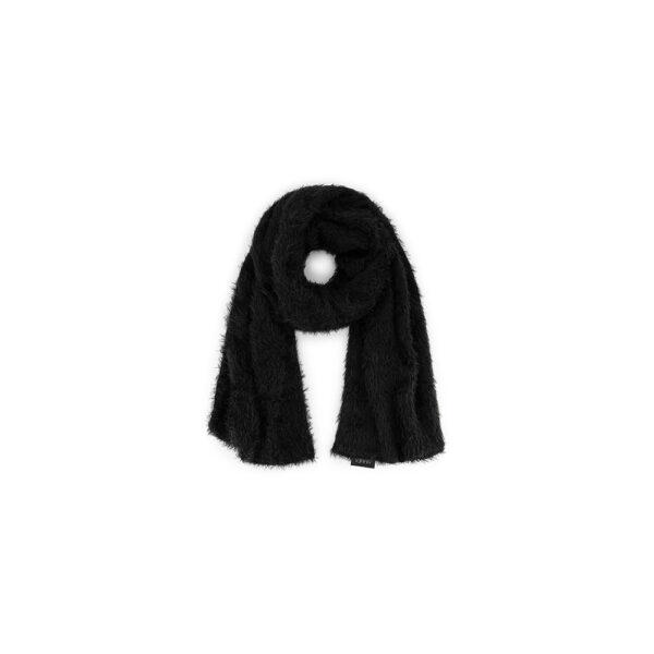 Zachte faux fur sjaal